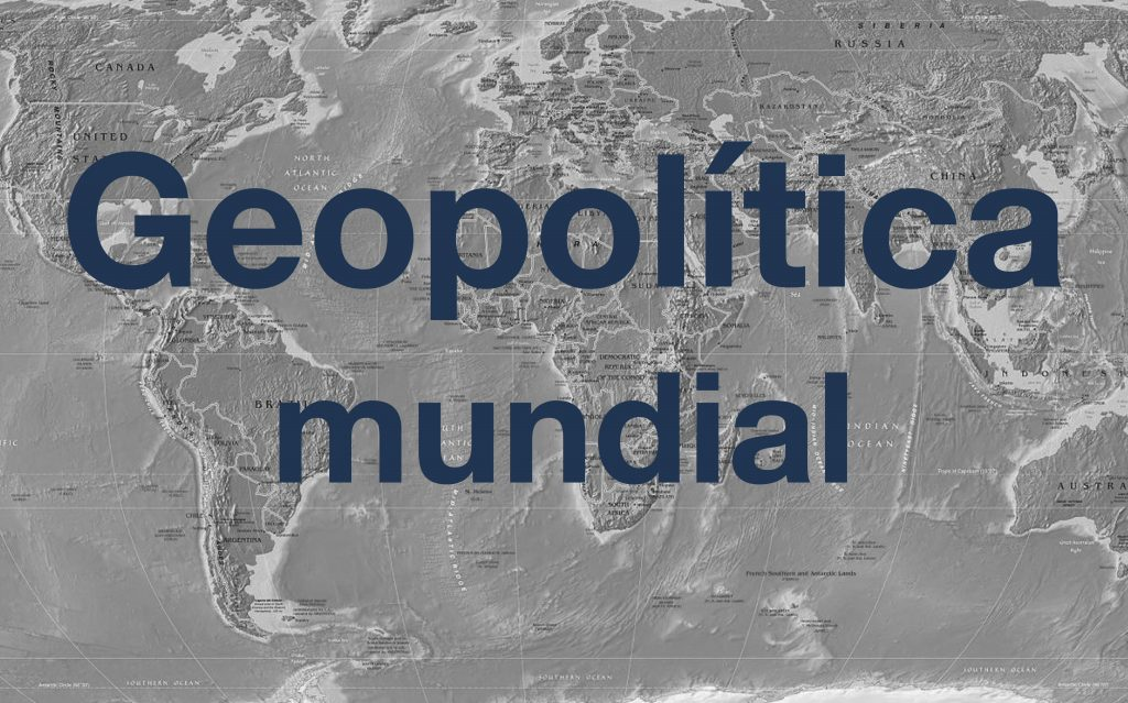 Geopolítica: as grandes questões do mundo contemporâneo (2017-2018)