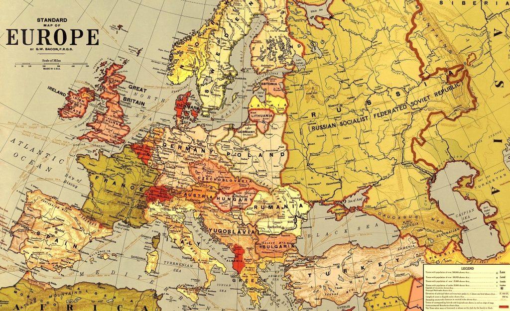 As Origens Histórico-Políticas da União Europeia  — dos anos 1920 e 1930 às Comunidades