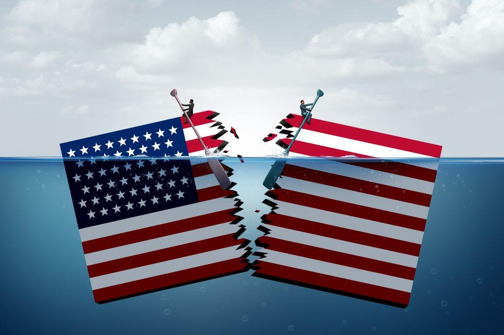 A América em declínio