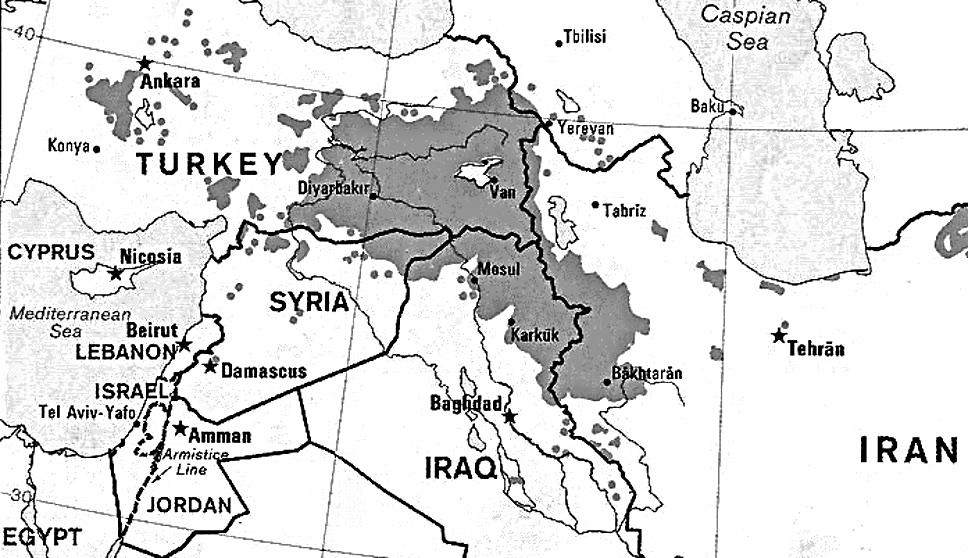 A Turquia, a Síria e os Curdos